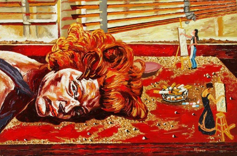 Ser carne y servir la cabeza a la mesa  | Alvear Pablo