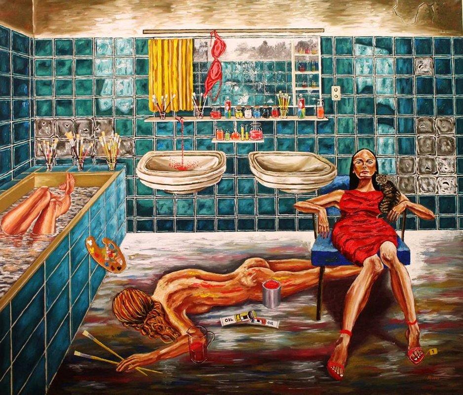 La asesina de artistas  | Alvear Pablo
