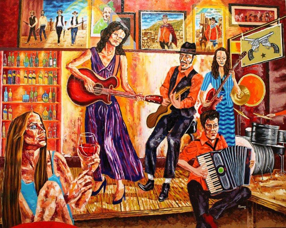 Incandescencias (Homenaje western) | Alvear Pablo