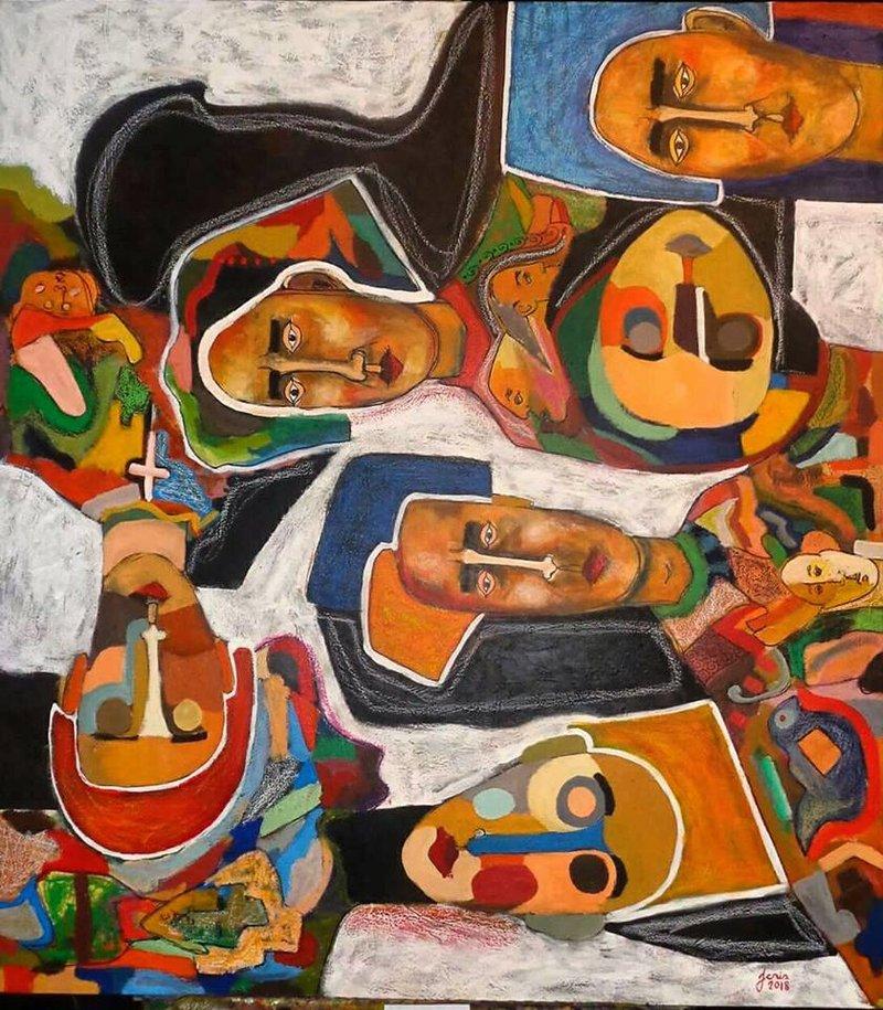 Agitados por nuestras formas | Sánchez Juan Cristóbal