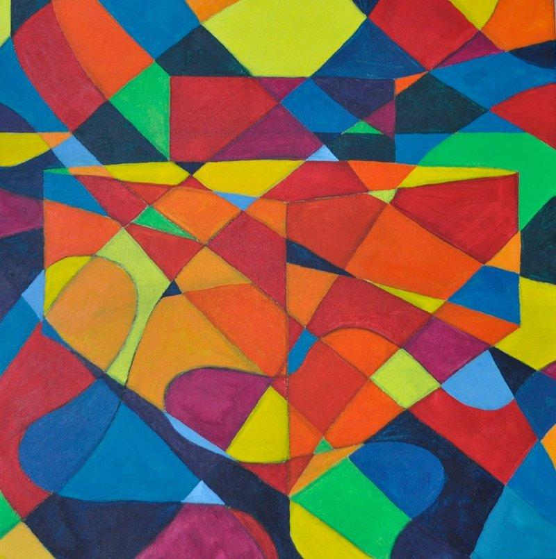 Cabrera Ricardo / Geometría cromática    Cabrera Ricardo