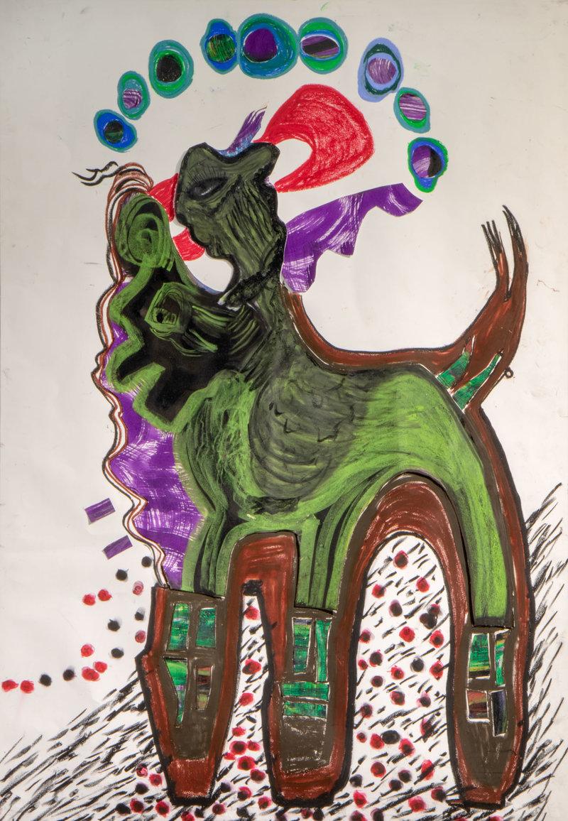 El mito cabalga   Guadalupe Huerta Tonantzin