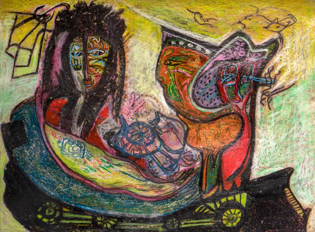 Madre Tonantzin viaja con sus hijos   Guadalupe Huerta Tonantzin