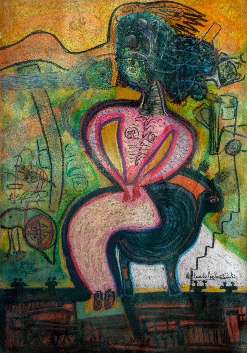 Los fantasmas de la mente   Guadalupe Huerta Tonantzin