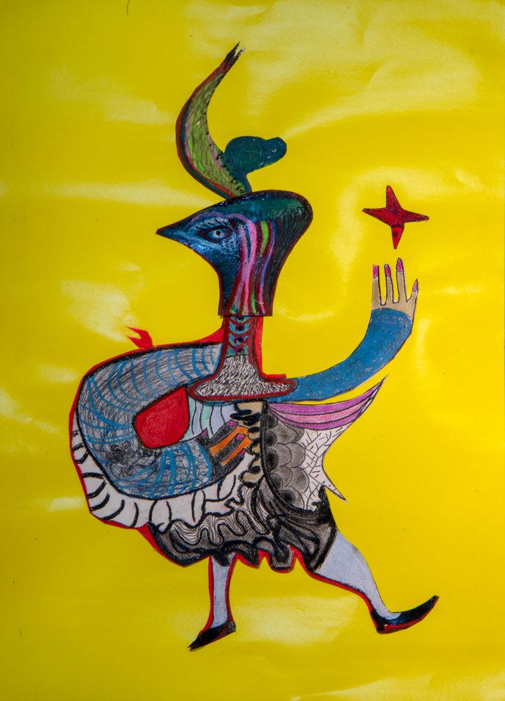 Mujer cabeza de águila   Guadalupe Huerta Tonantzin