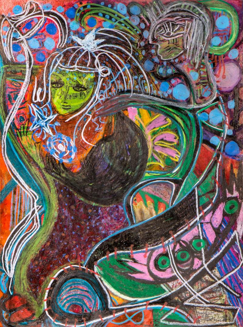Niña Tonantzin viaja al cosmos Nahuatl   Guadalupe Huerta Tonantzin