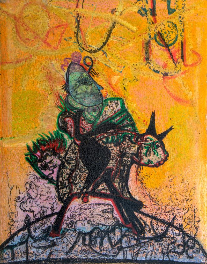 El mito cabalga II   Guadalupe Huerta Tonantzin