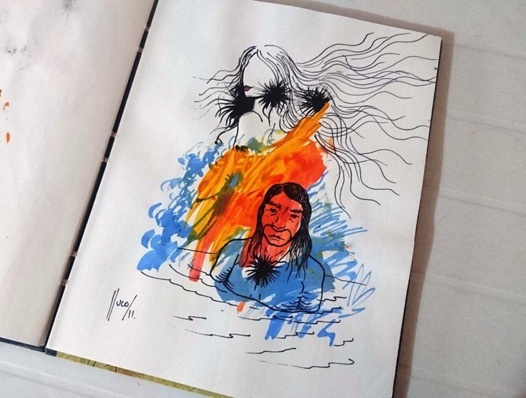 libro de artista/objeto | Lluco Edwin