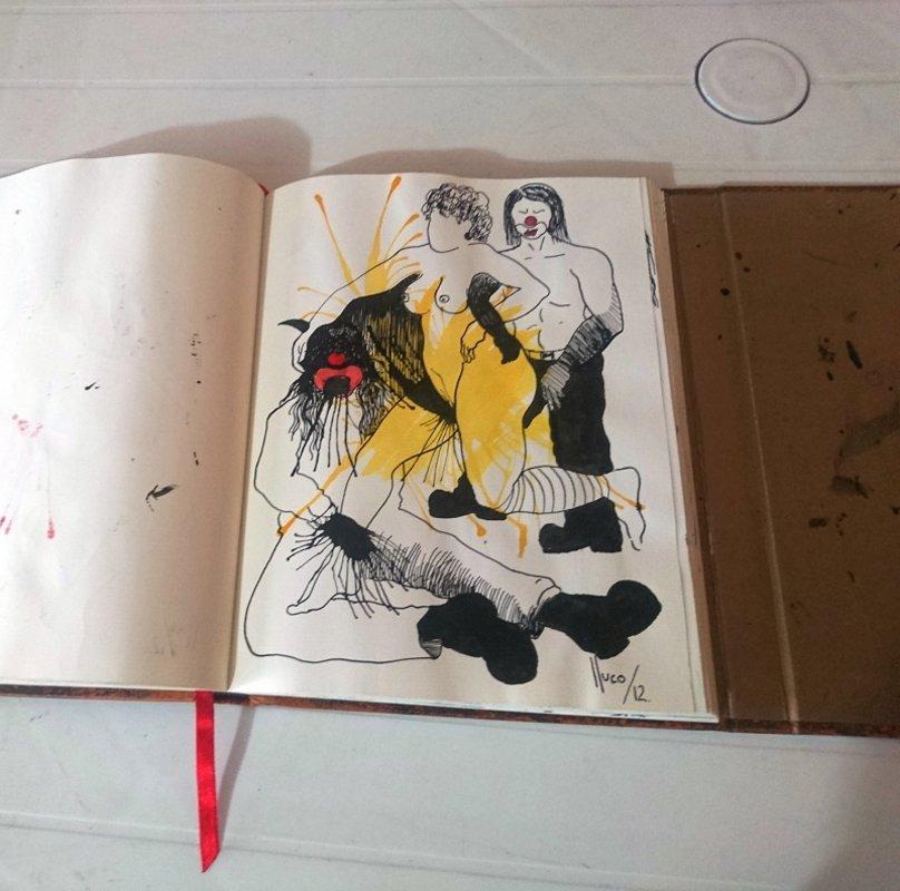 libro de artista/objeto 2 | Lluco Edwin