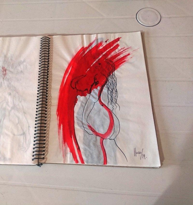 Desfiguraciones/libro de artista | Lluco Edwin