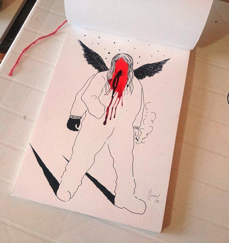 fractales /libro de artista  | Lluco Edwin