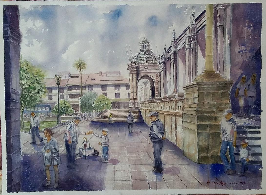Plaza de la Independencia   López Mauricio Arturo