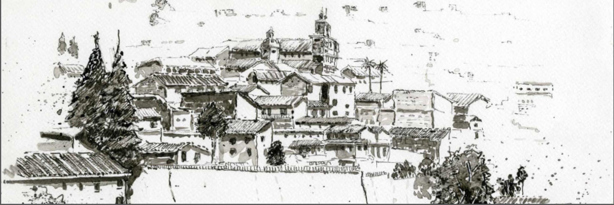 Centro Histórico Quito desde La loma Grande   López Mauricio Arturo