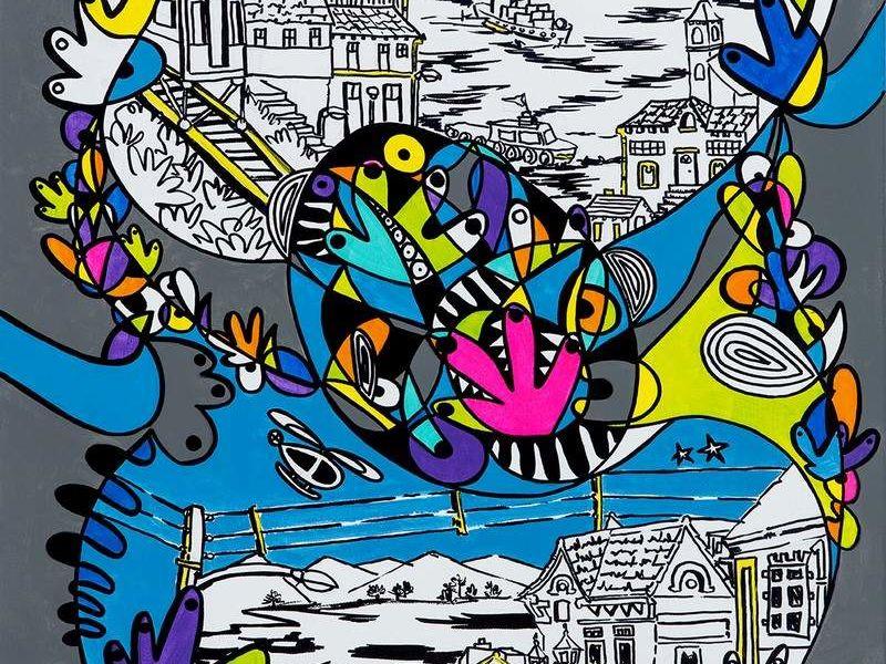 "Arte chileno - ""Puerto Materno"" - Matte Macarena | ARTEX"