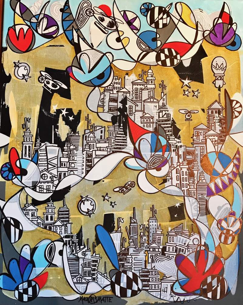 Arte chileno / Ciudad paterna  | Matte Macarena
