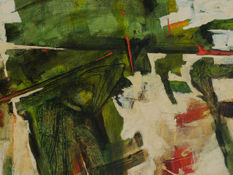 Francisco Salas / Paisaje en verde