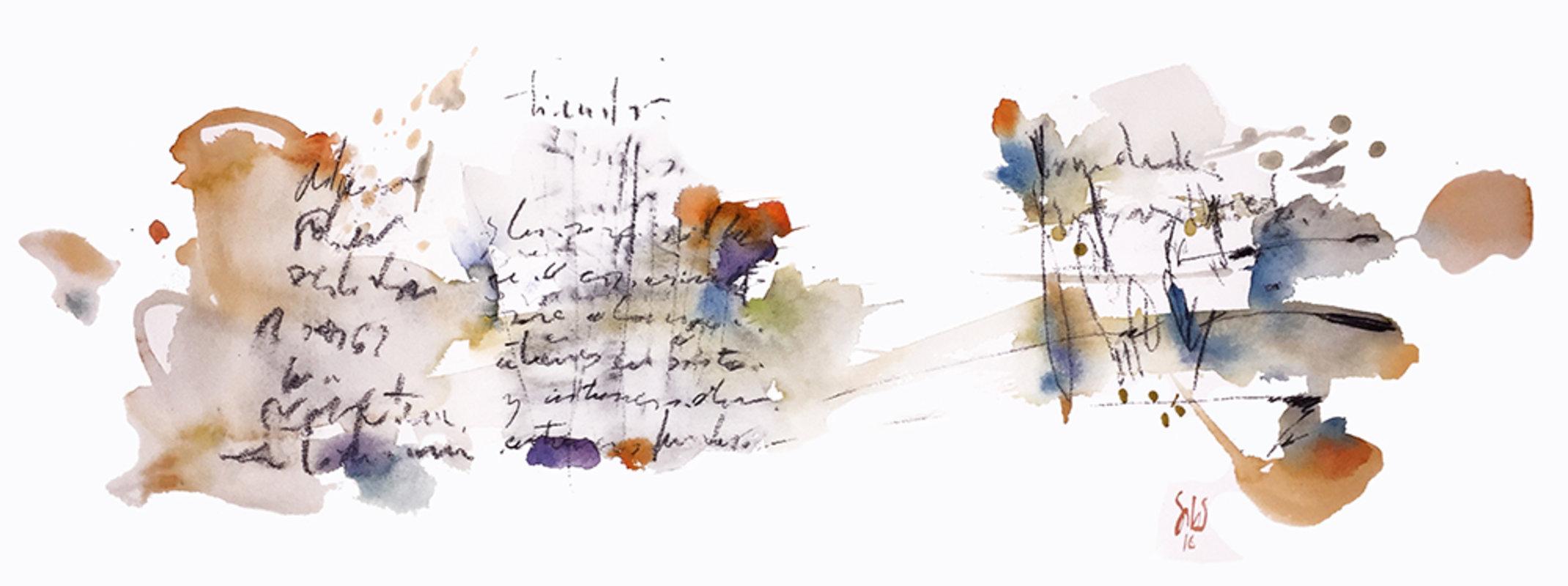 Arte chileno / Mensaje escrito | Salas Francisco