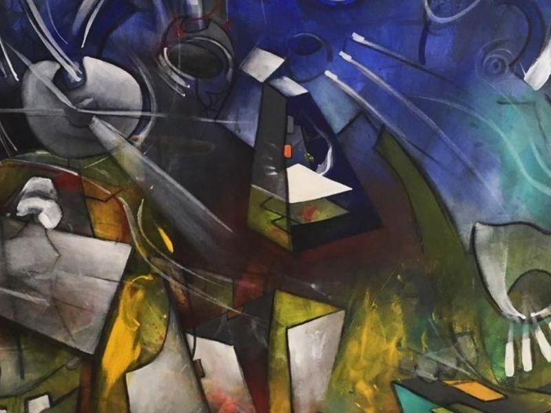 Arte chileno / Auroras en la ciudad