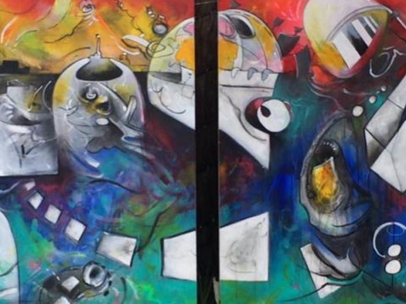 Arte chileno / El Ego (Díptico)