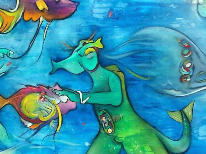 Felipe Bunster / Fiesta oceánica