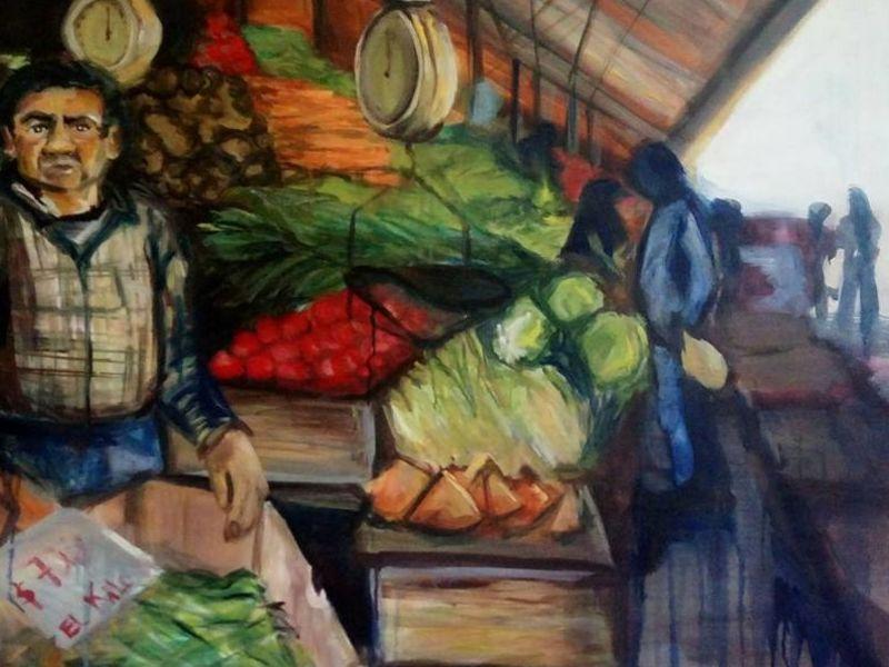 Arte chileno / Mercado 2