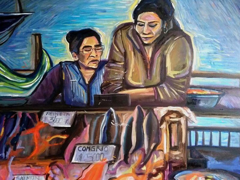 Arte chileno / Feria Fluvial