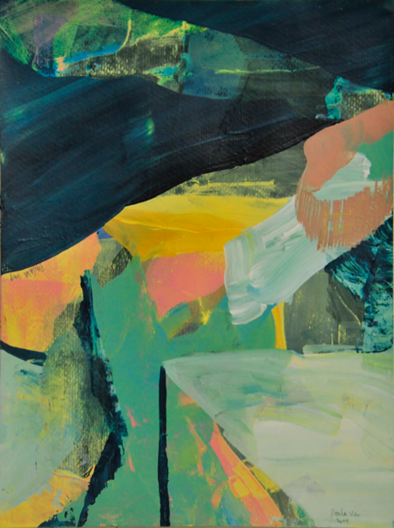 Memorias de un nuevo paisaje, serie 6 | Valenzuela Paula