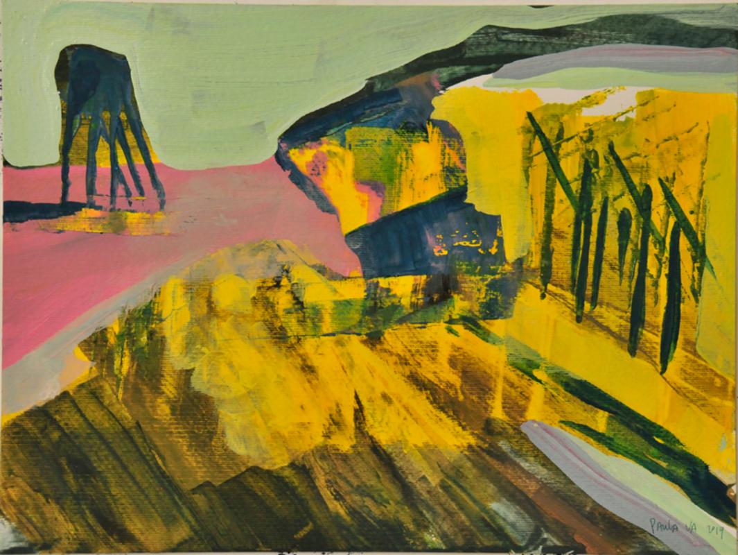 Memorias de un nuevo paisaje, serie 7 | Valenzuela Paula