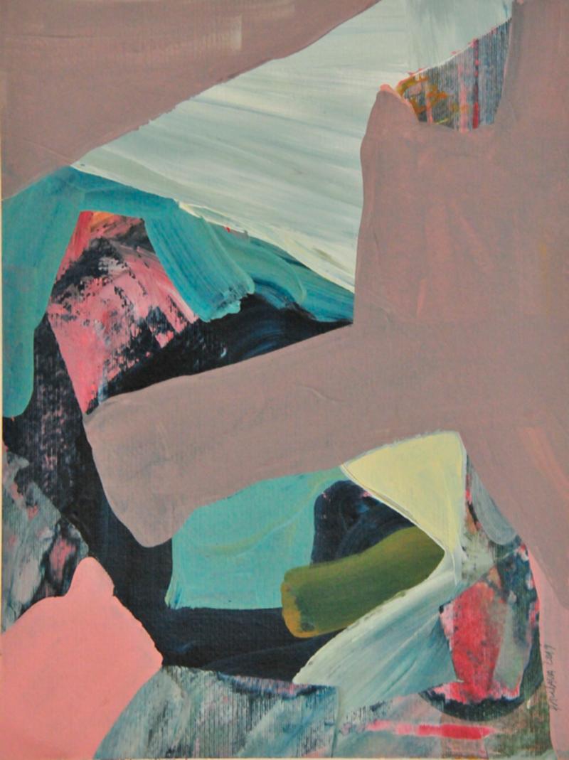Memorias de un nuevo paisaje, serie 15 | Valenzuela Paula