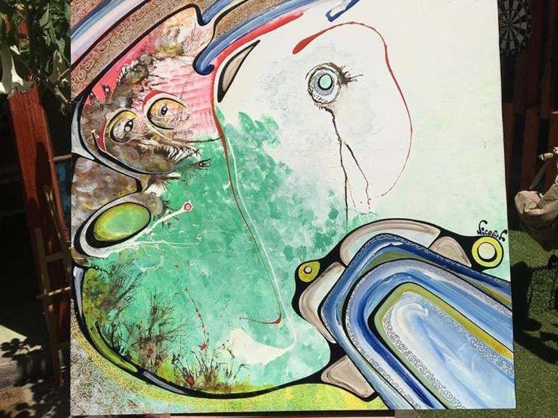 Arte chileno / En el ojo de la Manzana