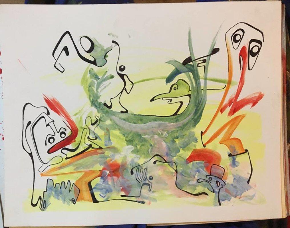 Arte chileno / California    Huidobro Nicolás