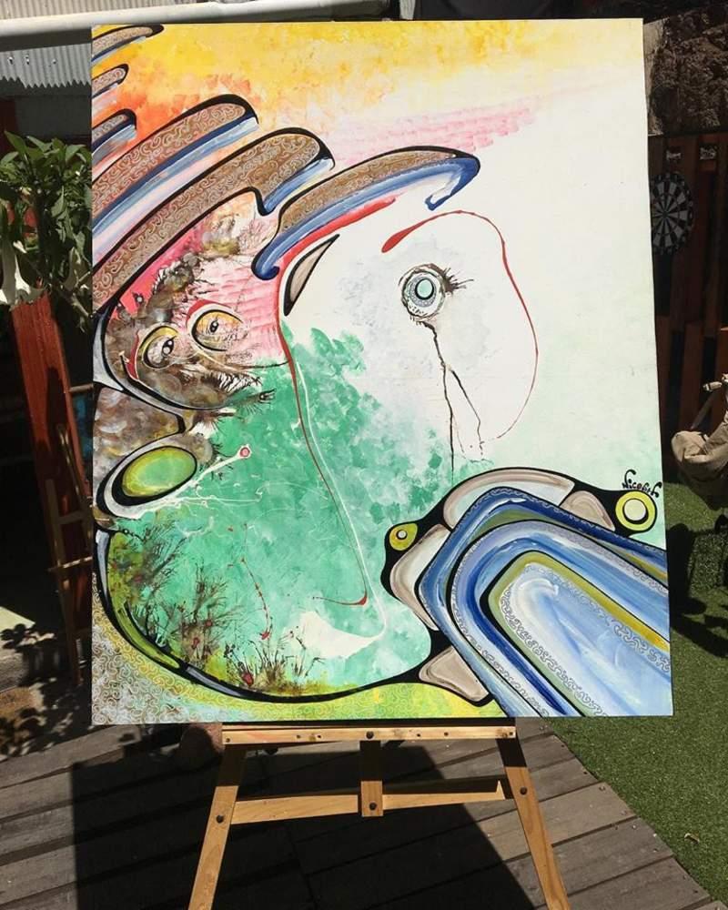 Arte chileno / En el ojo de la Manzana  | Huidobro Nicolás
