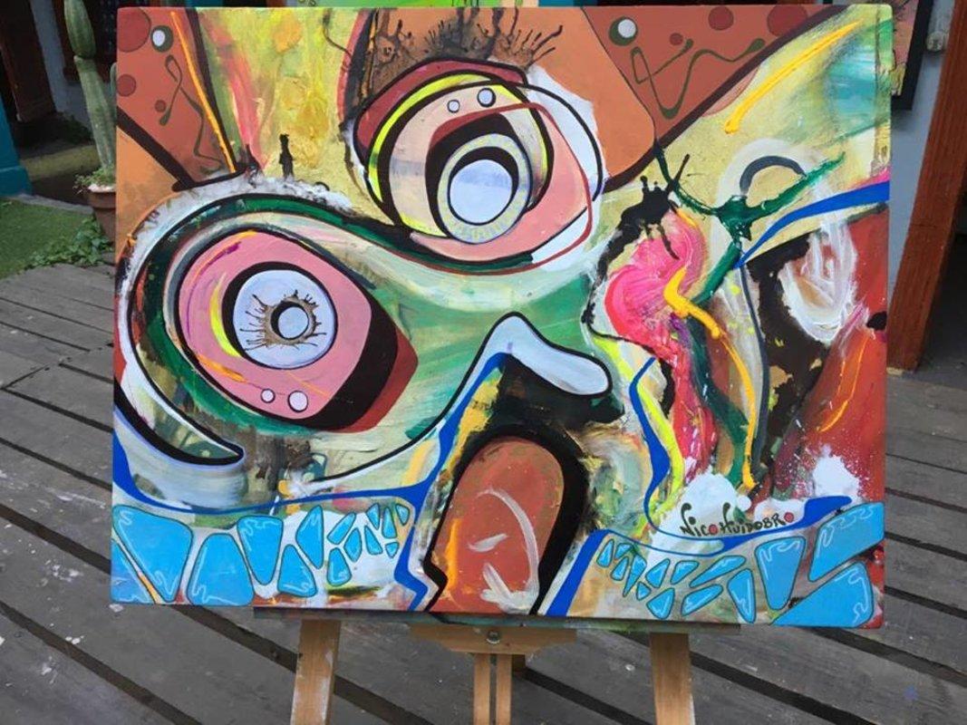 Arte chileno / Holly psichedelic  | Huidobro Nicolás
