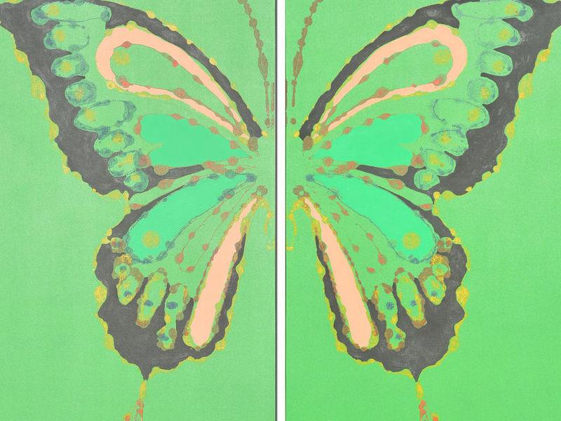 Arte chileno - Madame butterfly
