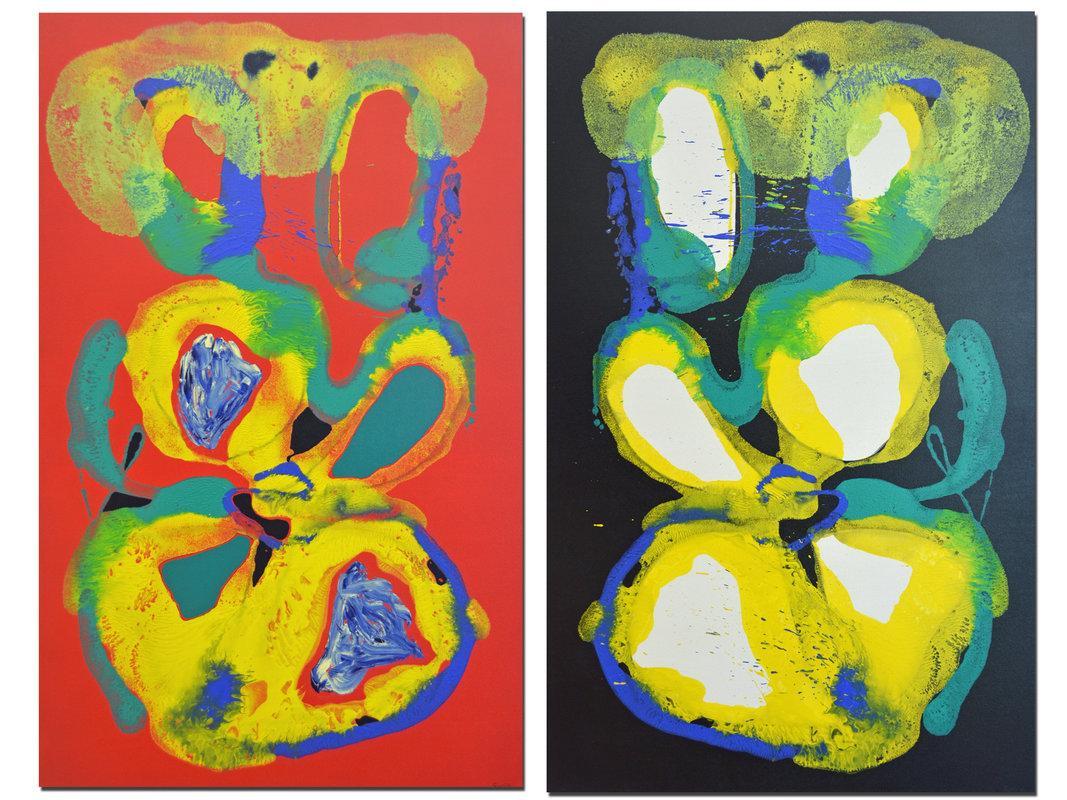 Arte chileno - Hemisferio izquierdo y derecho | Soro Fernando