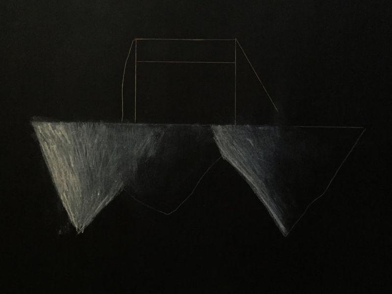 """Juan Pablo Villalpando / """"la noche de al lado I"""""""