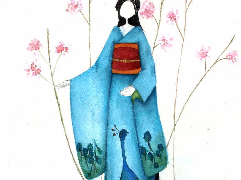 Arte chileno - geisha