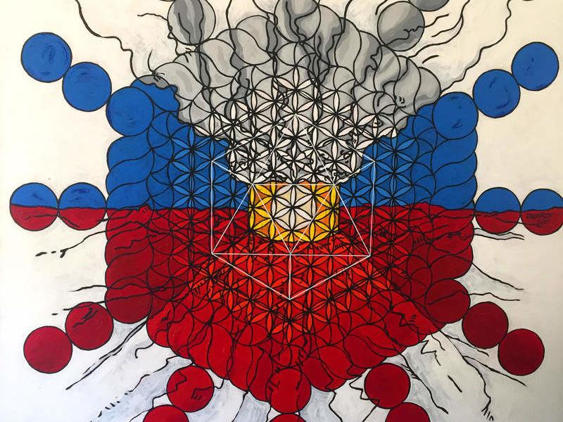 "Arte chileno - ""Toroide"""