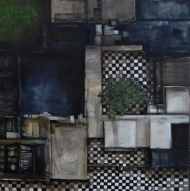 Arte Argentino - Corazón de olivo | Rudman Laura