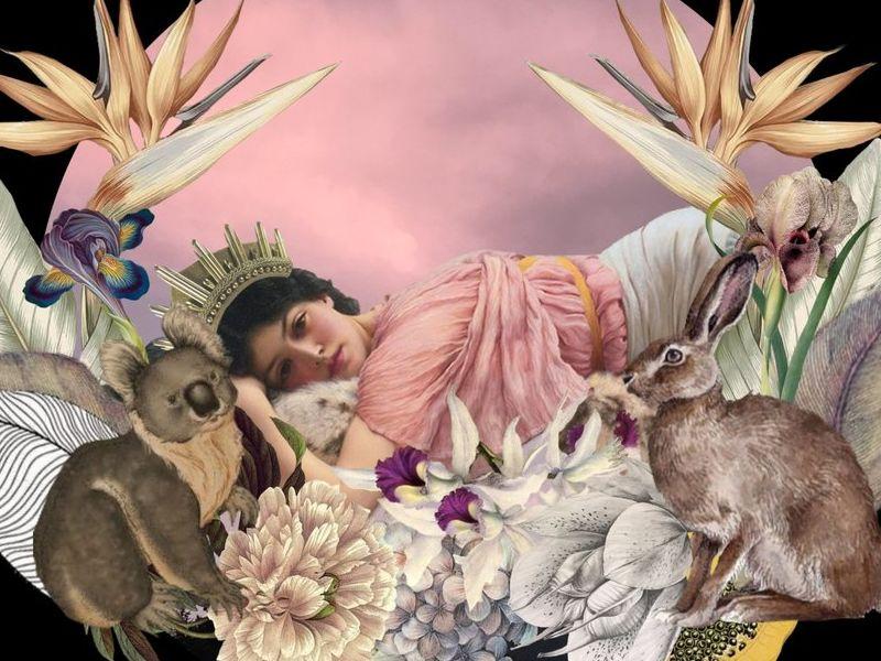 Arte Chileno - El Descanso