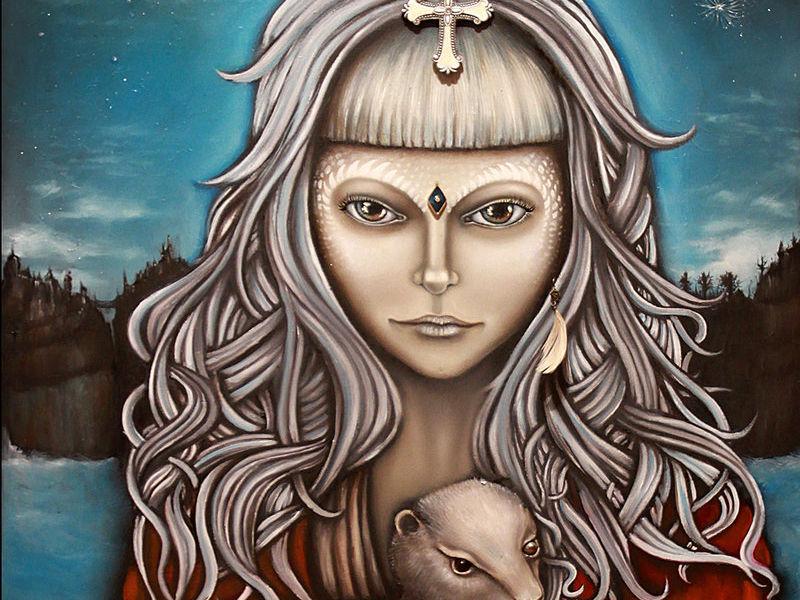 Diana Armas / Luna y Armiño