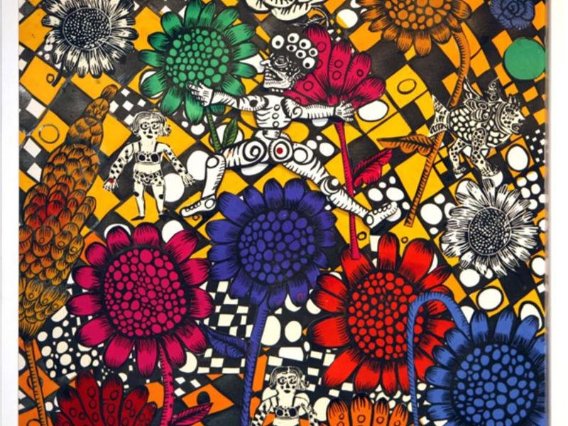 Ana Fernandez / full flower power en la calle