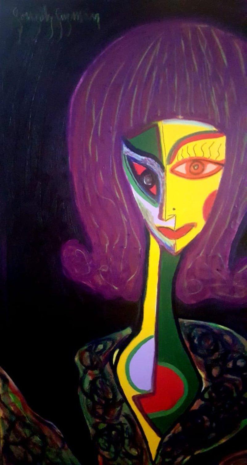 Retrato Mujer 2  | Guzmán González