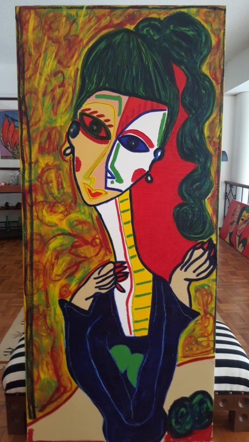 Retrato Mujer 4 | Guzmán González
